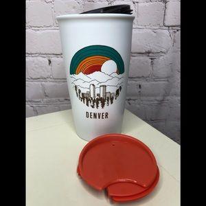 BN Ceramic Starbucks Denver Coffee Cup
